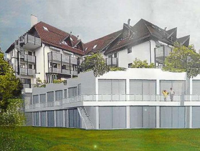 Anbau an Seniorenheim passt sich ins Landschaftsbild ein